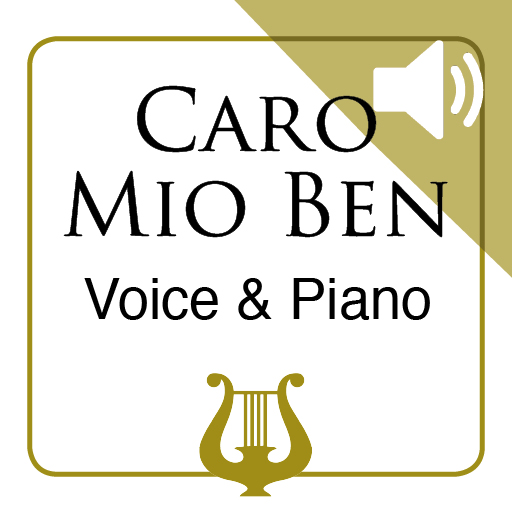 Caro Mio Ben by G. Giordani - Medium Voice & Piano MP3 Play-Along included (iPad Edition)